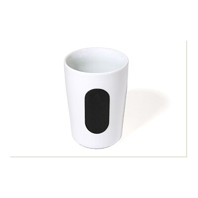 Five Senses Touch! Black Drinking Glass