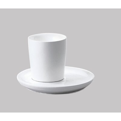 Five Senses White Sake Cup (Set of 4)