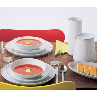 Kahla Five Senses White Dinnerware Set