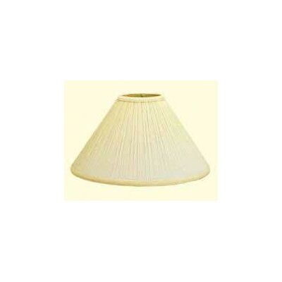 Deran Lamp Shades Coolie Mushroom Pleat Shade