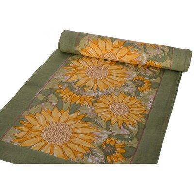 sunflower tablecloth wayfair. Black Bedroom Furniture Sets. Home Design Ideas