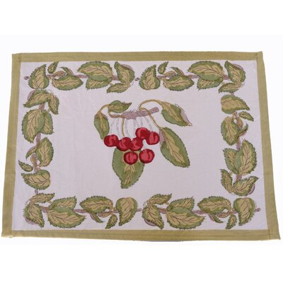 Cherry Dining Linens Set