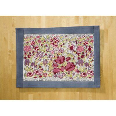 Couleur Nature Jardine Red Grey Placemat