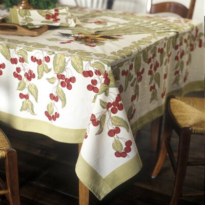 Couleur Nature Cherry Dining Linens Set