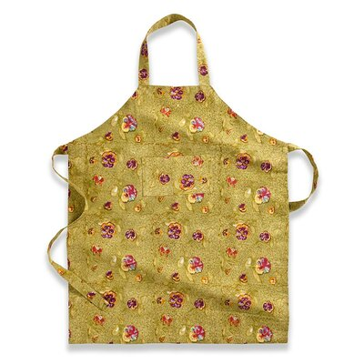Couleur Nature Pansy Red Green Apron