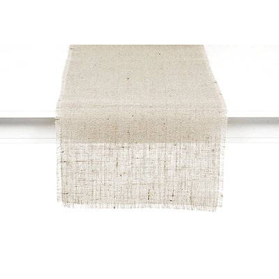 Couleur Nature Burlap Table Runner
