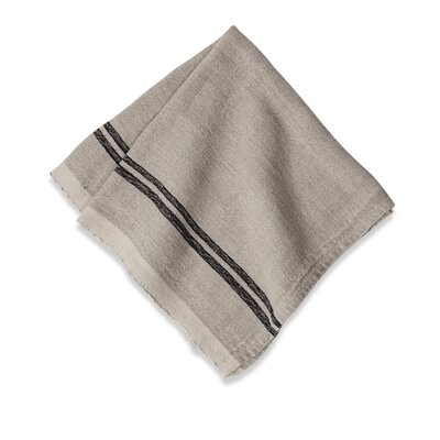 Couleur Nature Khadhi Linen Stripe Napkin (Set of 4)