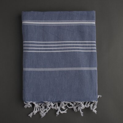 Nine Space Stripe Fouta Bath Towel