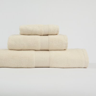 Nine Space Bamboo 3 Piece Towel Set in White