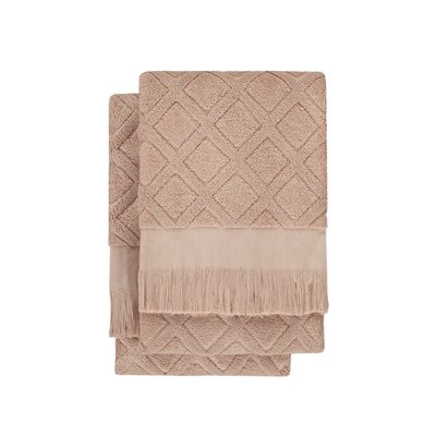 Nine Space Trellis 2 Piece Towel Set
