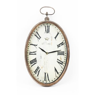 Zentique Inc. Paris Oval Wall Clock