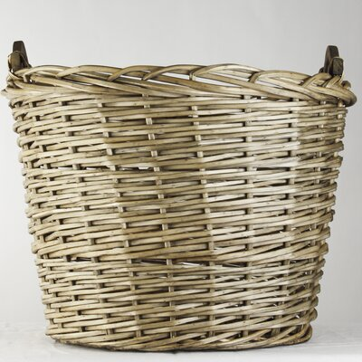 XXL French Market Round Basket