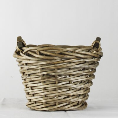 Zentique Inc. Small French Market Round Basket