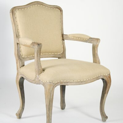 Zentique Inc. Cannes Fabric Arm Chair