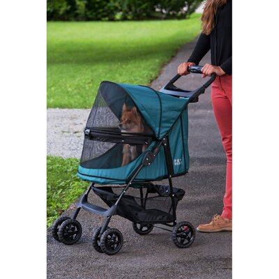 Pet Gear No Zip Happy Trails Standard Pet Stroller