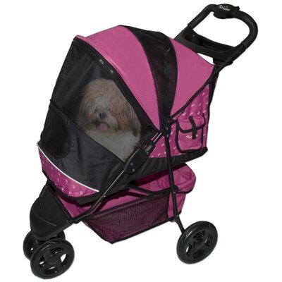Pet Gear Special Edition Pet Stroller in Raspberry