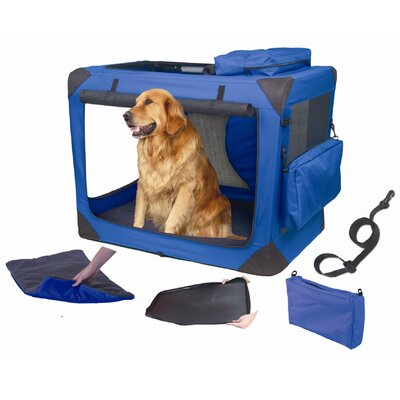 Pet Gear Generation II Deluxe Portable Soft Medium Pet Crate