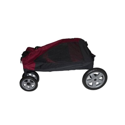 Pet Gear Expedition Pet Stroller in Burgundy