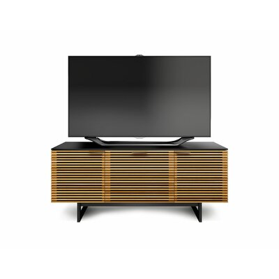 "BDI Corridor 65"" Triple-Width TV Stand with Drawer"