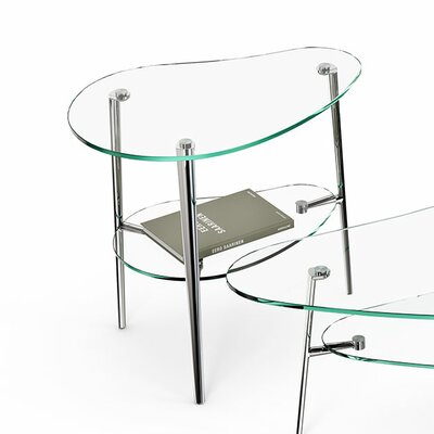 BDI USA Comma End Table