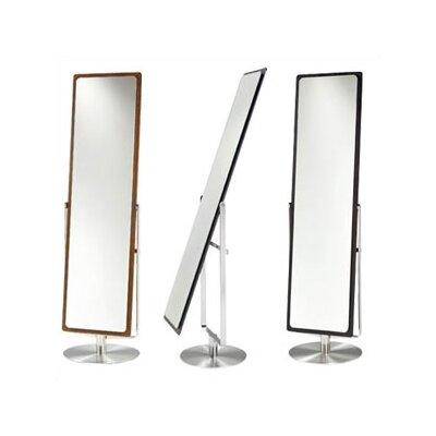Continuum Cheval Mirror With Swivel in Espresso