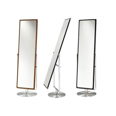 BDI Continuum Cheval Mirror With Swivel in Espresso