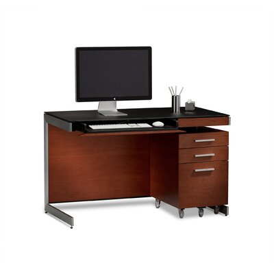 Bdi usa 29 quot sequel compact computer desk with file cabinet allmodern