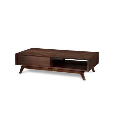 BDI USA Eras Coffee Table with Sliding Doors