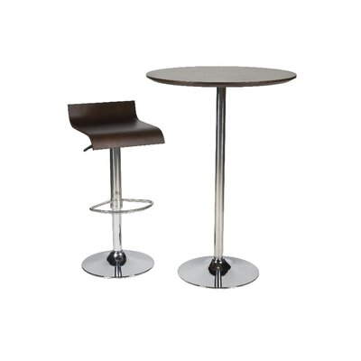 Pangea Home Jax Pub Table with Optional Stools