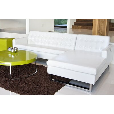 Pangea Home Nolan Right Chaise Sectional