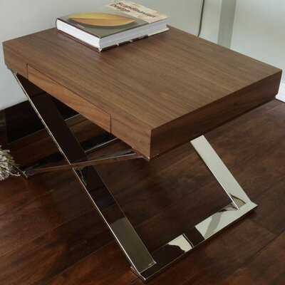 Pangea Home Mason End Table