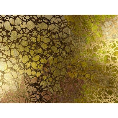 JORDAN CARLYLE Abstract Golden Nest Framed Graphic Art