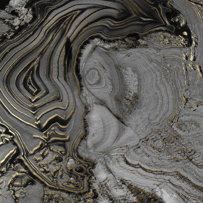 JORDAN CARLYLE Abstract Agate #2 Wall Art