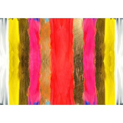 JORDAN CARLYLE Abstract Uptown Framed Painting Print