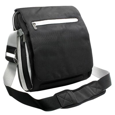 Laptop Messenger Bag in Black