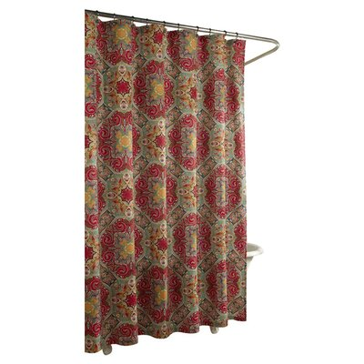 m.style Kashmir Cotton Shower Curtain