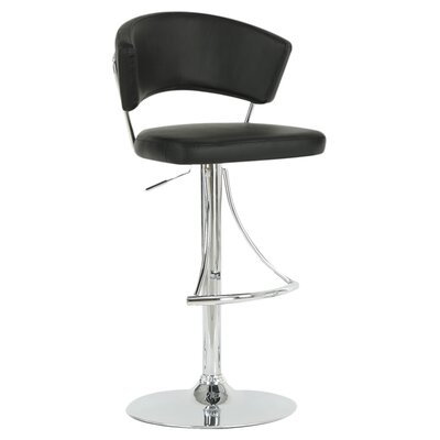 Adjustable Swivel Bar Stool with Cushion