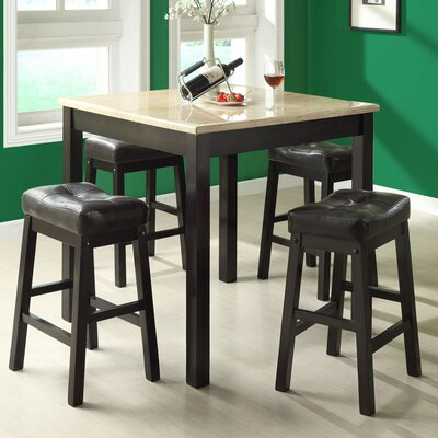 monarch specialties inc kenny 5 piece pub set reviews wayfair