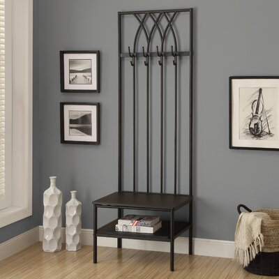Southern Enterprises Rosston Entryway Hall Tree & Reviews | Wayfair