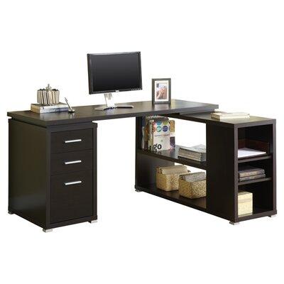 Monarch Specialties Inc. Hollow-Core L-Shaped Computer Desk