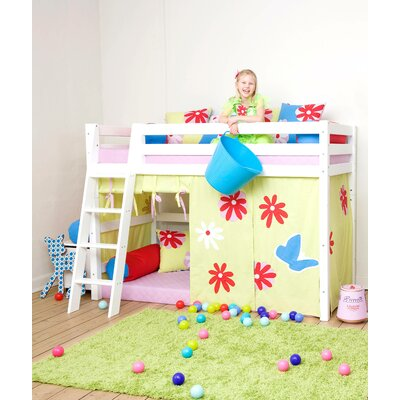 hoppekids vorhang in butterfly f r 200cm x 90cm. Black Bedroom Furniture Sets. Home Design Ideas