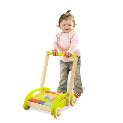 educo Fill'n Build Block Cart