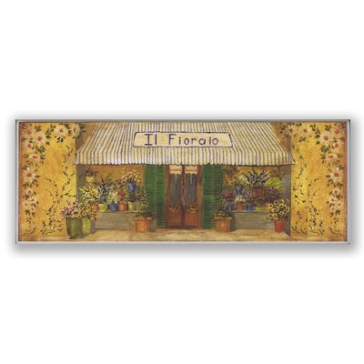 Il Fioraio Café Oversized Kitchen Wall Plaque