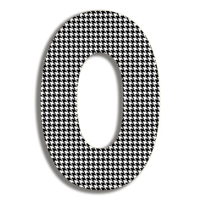 Stupell Industries Oversized Hanging Letter O