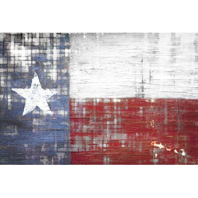 Texas Painting Print on Canvas