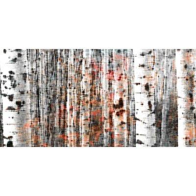 Tree Ski Painting Print on Canvas