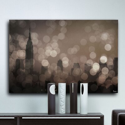 Parvez Taj New York Sleeping by Parvez Taj Graphic Art on Canvas