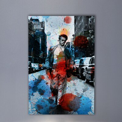 Parvez Taj James Dean NYC by Parvez Taj Graphic Art on Canvas