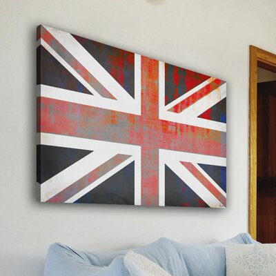 Parvez Taj Union Jack by Parvez Taj Graphic Art on Canvas