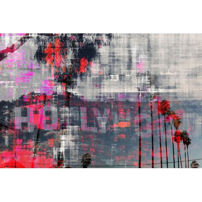 Hollywood Dreams by Parvez Taj Graphic Art on Canvas